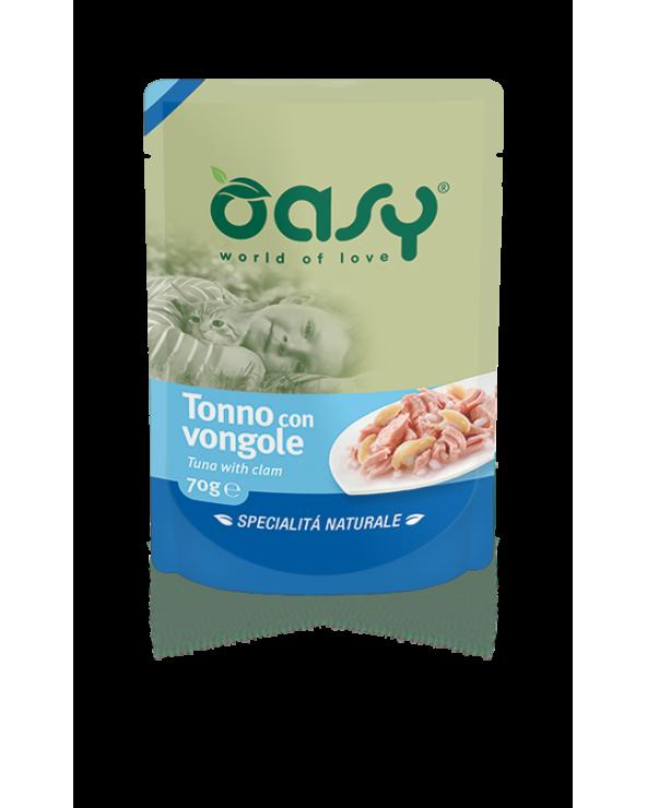 Oasy Wet Cat - Tonno con Vongole
