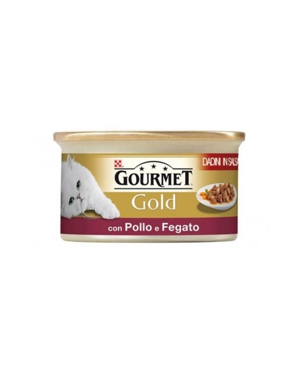 Gourmet Gold Dadini con Pollo e Fegato 85 g