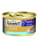 Gourmet Gold Mousse Senior 7+ con Pesce dell'Oceano