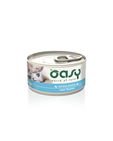 Oasy Cat Mousse con Tonno 85 g