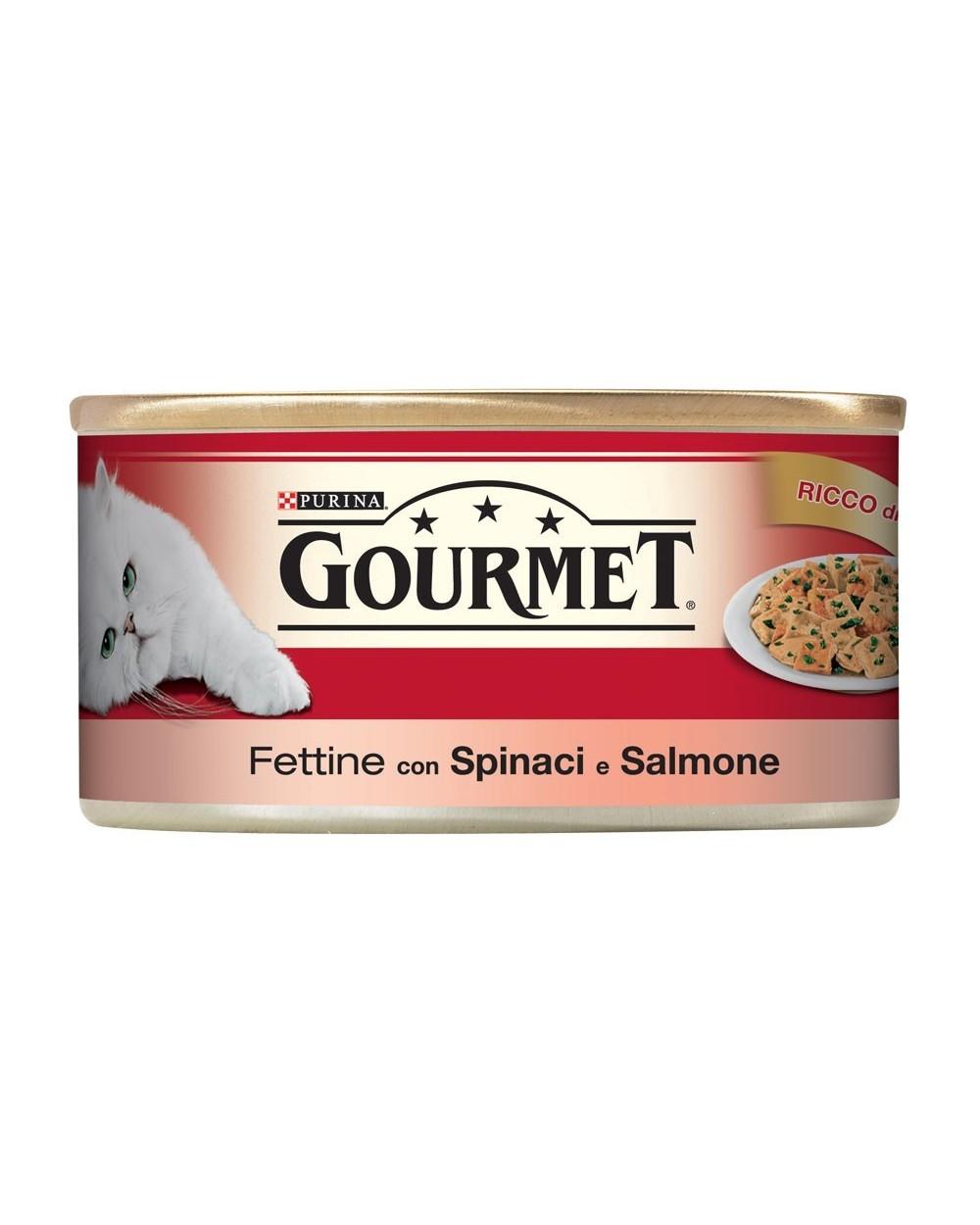 Gourmet Red Fettine con Spinaci e Salmone