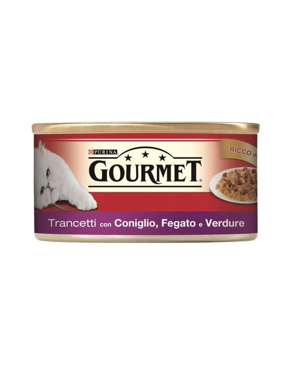 Gourmet Red Trancetti in Gelè Coniglio Fegato e Verdure 195 g