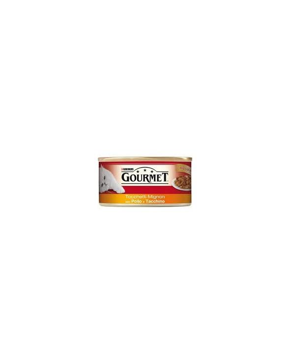 Gourmet Red Tocchetti Mignon Pollo e Tacchino 195g