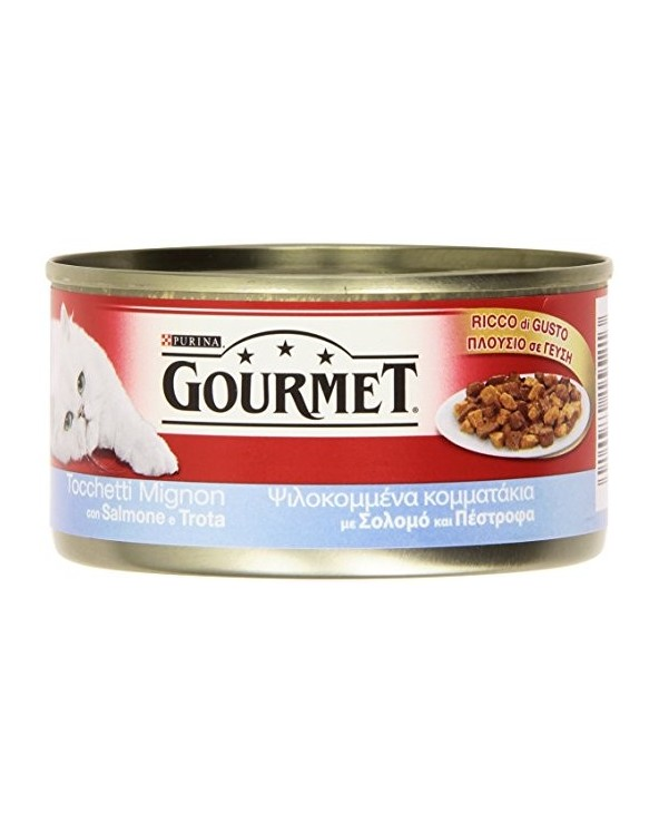 Gourmet Red Tocchetti Mignon Salmone e Trota 195g
