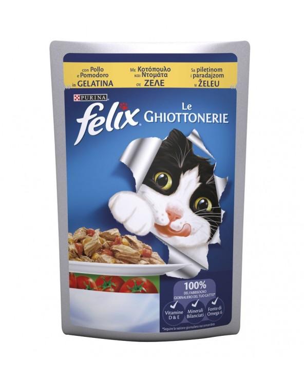 Felix le Ghiottonerie in Gelatina con Pollo e Pomodoro 100 g
