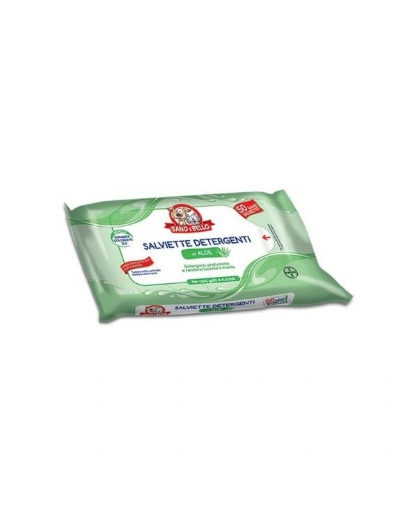 Bayer Salviette Detergenti Aloe 50 Pz