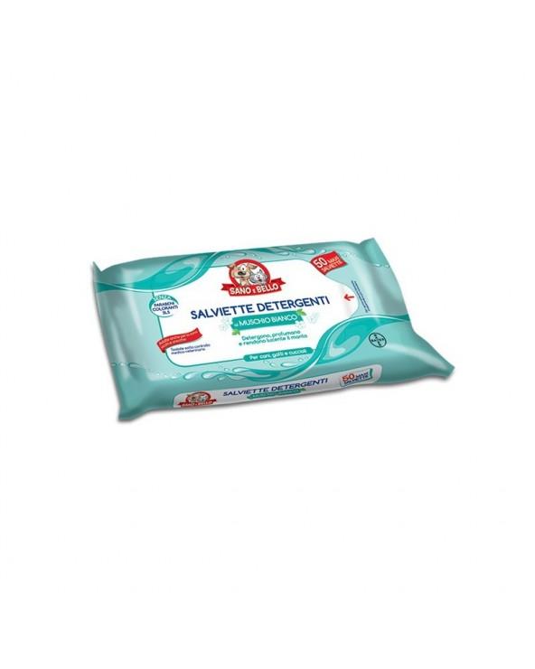 Bayer Salviette Detergenti Muscio Bianco 50 Pz