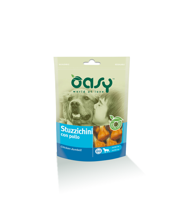 Oasy Dog Snack Stuzzichini Di Pollo