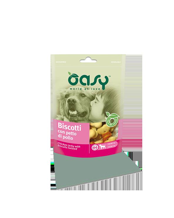 Oasy Dog Snack Biscotti Con Petto Di Pollo