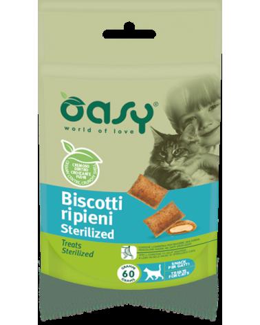 Oasy Snack Biscotti Ripieni Gatti Sterilizzati