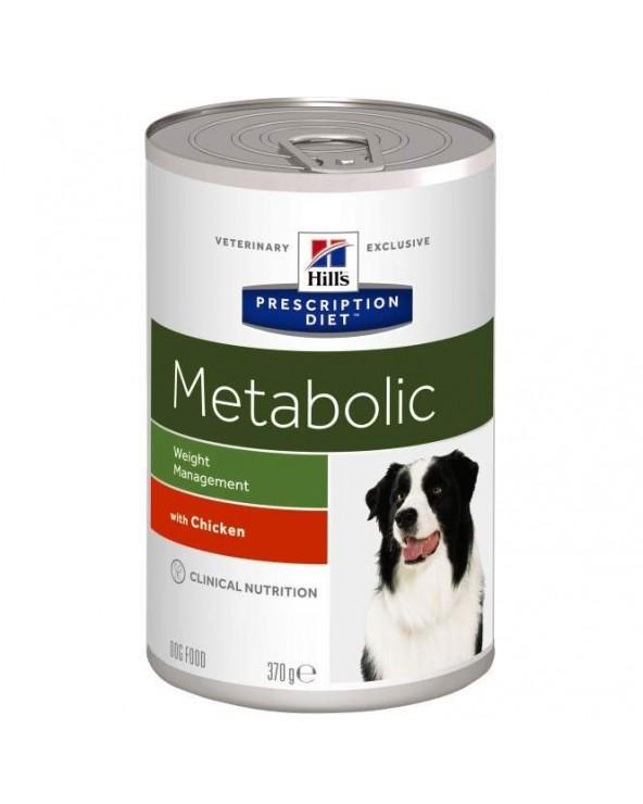 Hill's Canine Prescription Diet Metabolic Lattina in Patè 370 g