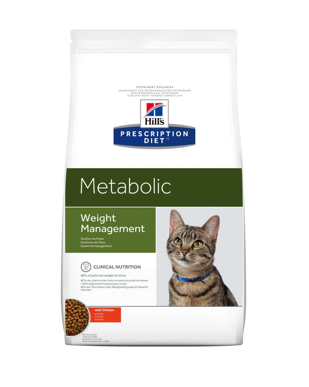 Hills Cat Metabolic Secco - Base