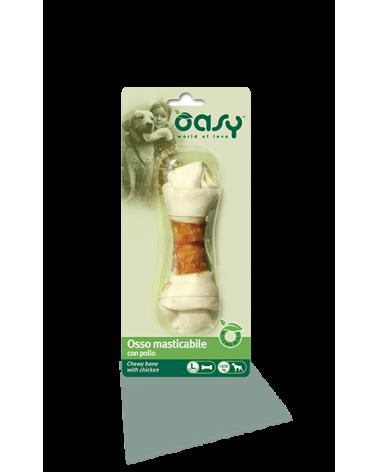 Oasy Dog Snack Osso Masticabile Con Pollo Taglia L