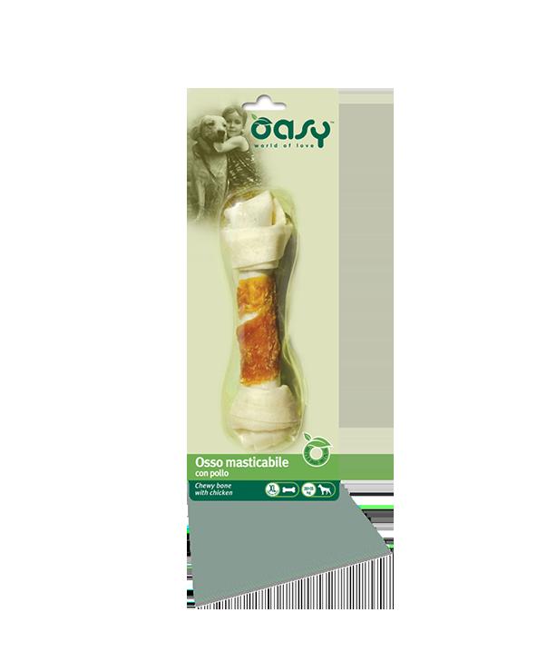 Oasy Dog Snack Osso Masticabile Con Pollo Taglia XL