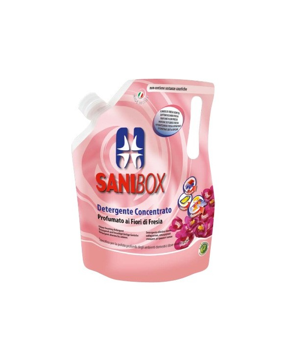 Sanibox Detergente Fiori Di Fresia 1 Lt