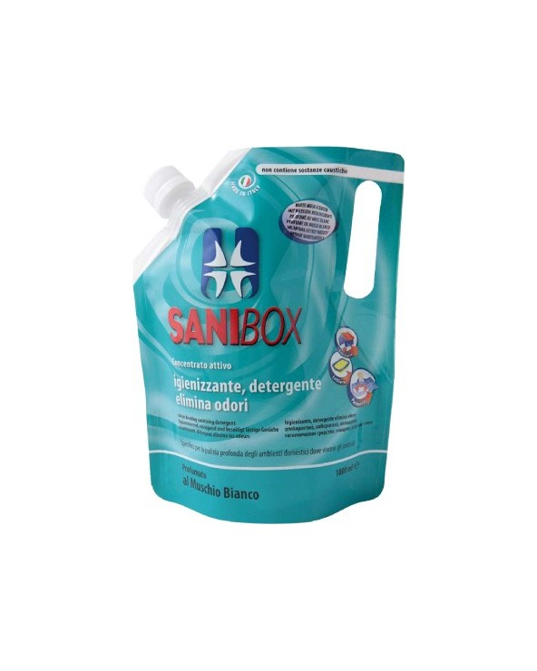 Sanibox Detergente Muschio Bianco