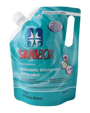 Sanibox Detergente Muschio Bianco