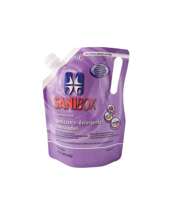 Sanibox Detergente Lavanda 1 Lt