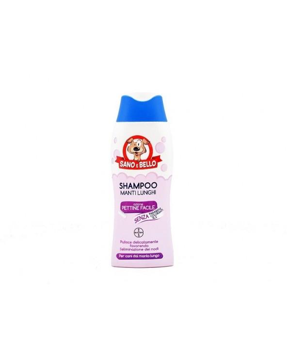 Bayer Shampoo Pettine Facile per Manti Lunghi 250 ml