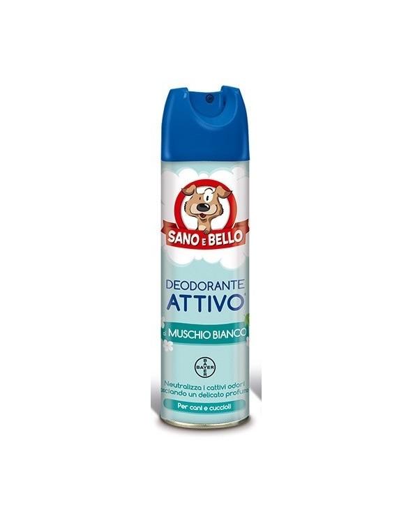 Bayer Deodorante Attivo Muschio Bianco