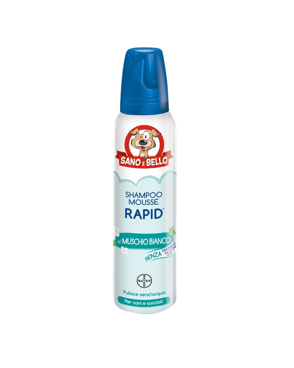 Bayer Shampoo Secco Muschio Bianco