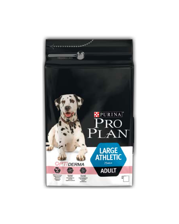 Pro Plan Dog Adult Large Athletic Optiderma con Salmone 14 kg