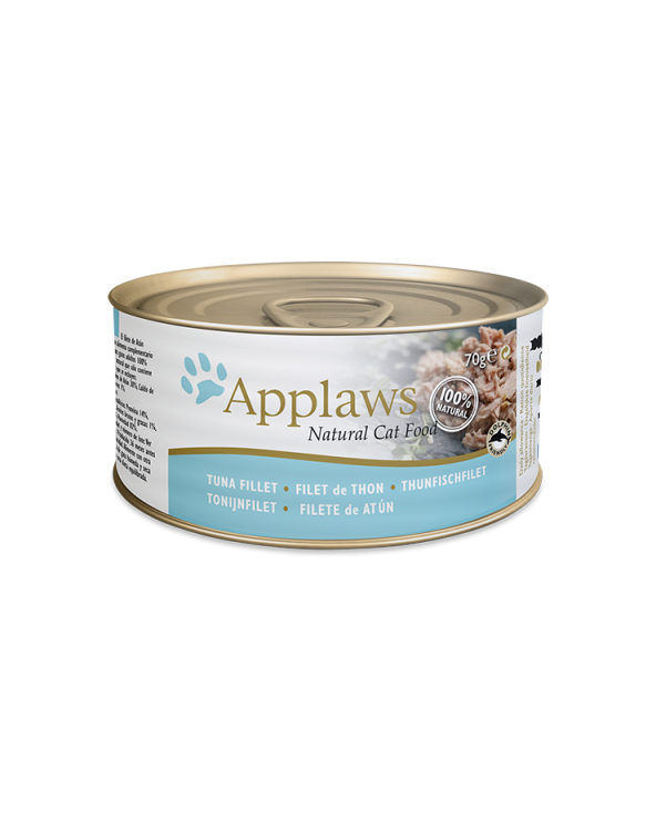 Applaws Lattina Tranci Di Tonno 70g