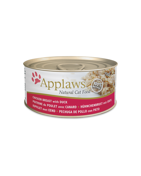 Applaws Lattina Pollo E Anatra 70g
