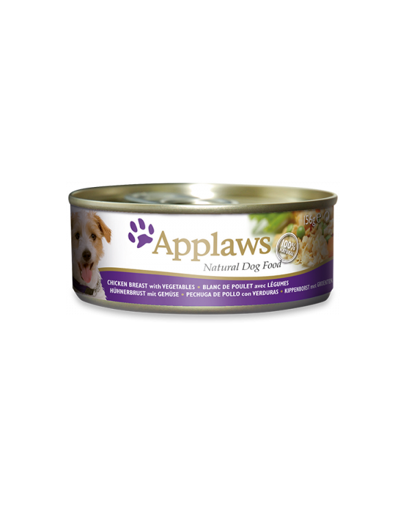 Applaws Dog Pollo E Verdure Lattina 156 g
