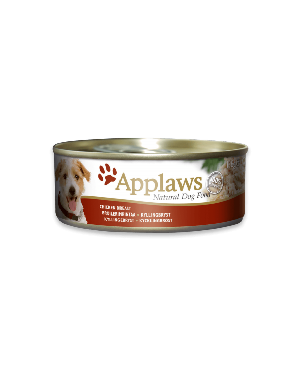Applaws Dog Petto Di Pollo Lattina 156g