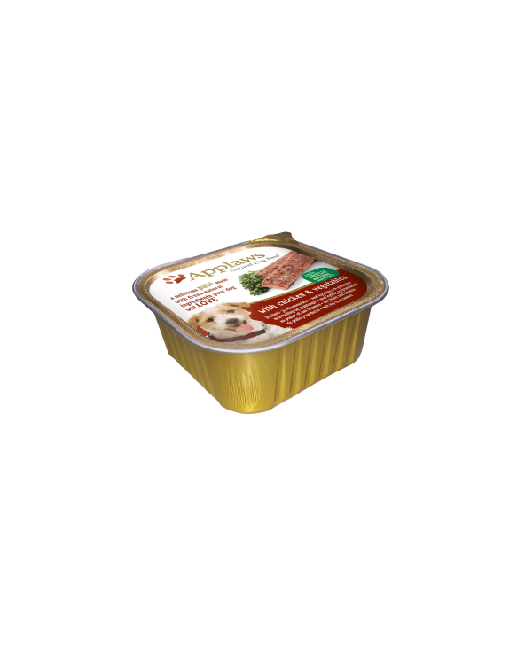 Applaws Patè Pollo e Verdure 150g