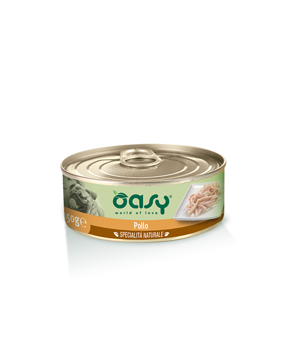 Oasy Dog Specialità Naturali Pollo Lattina 150g