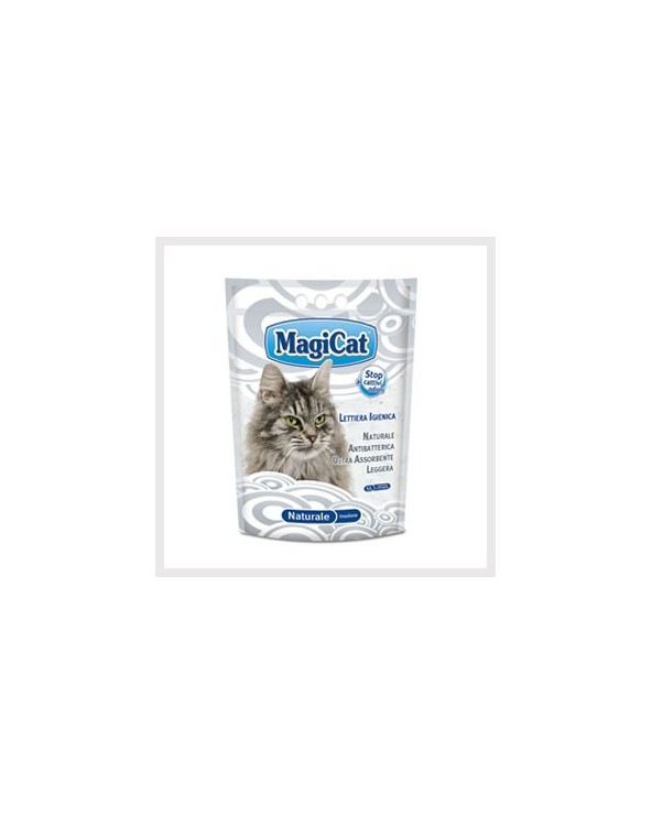 Magicat Lettiera In Gel Di Silicio Inodore 5 Lt