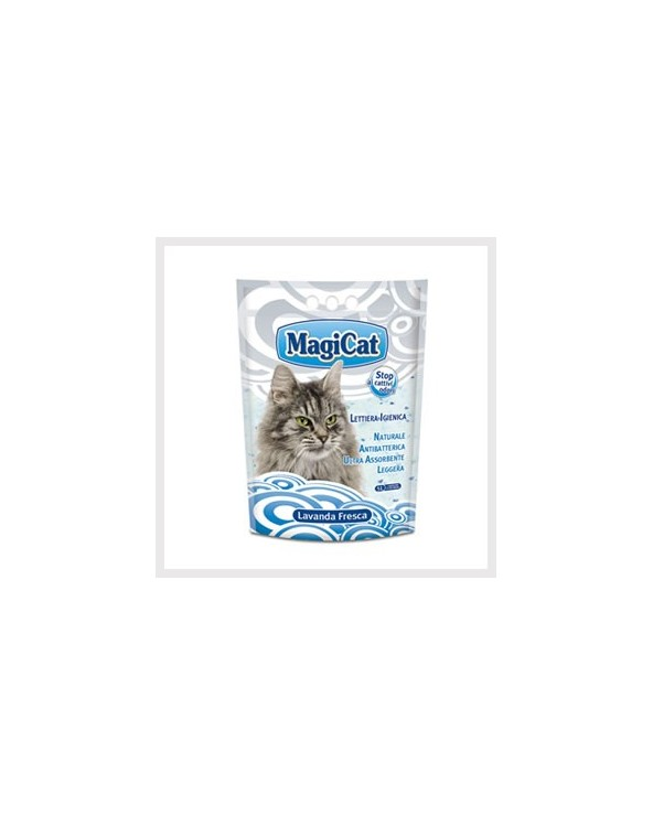 Magicat Lettiera In Gel Di Silicio Lavanda 5L