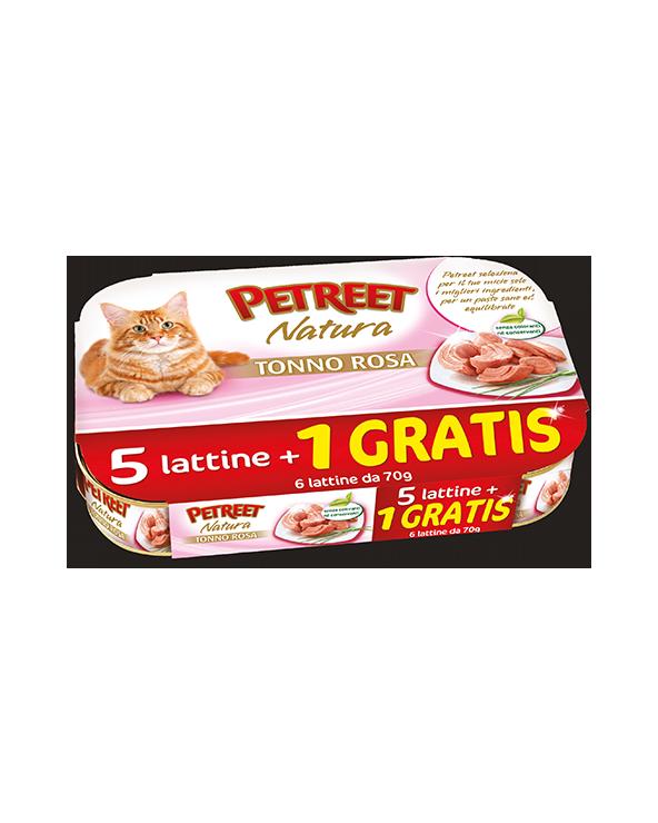 Petreet Natura Tonno 5+1 Gratis