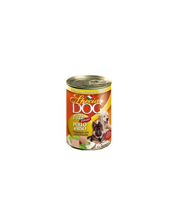Special Dog Patè Classic Junior Pollo e Riso 400g