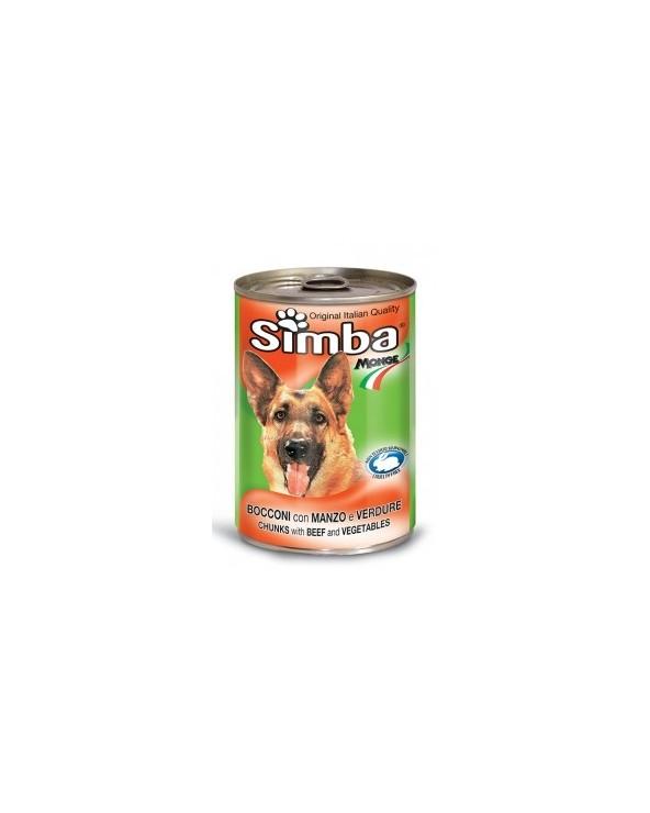 Simba Cane Bocconi Con Manzo e Verdure 1.23 kg