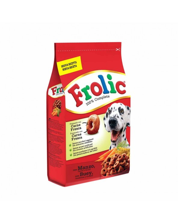 Frolic Manzo, Carote e Cereali 1,5kg