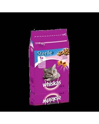 Whiskas Sterile 1+ Croccantini Ripieni Con Salmone 350 g