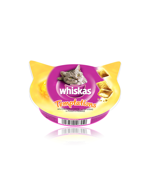 Whiskas Temptations con Pollo