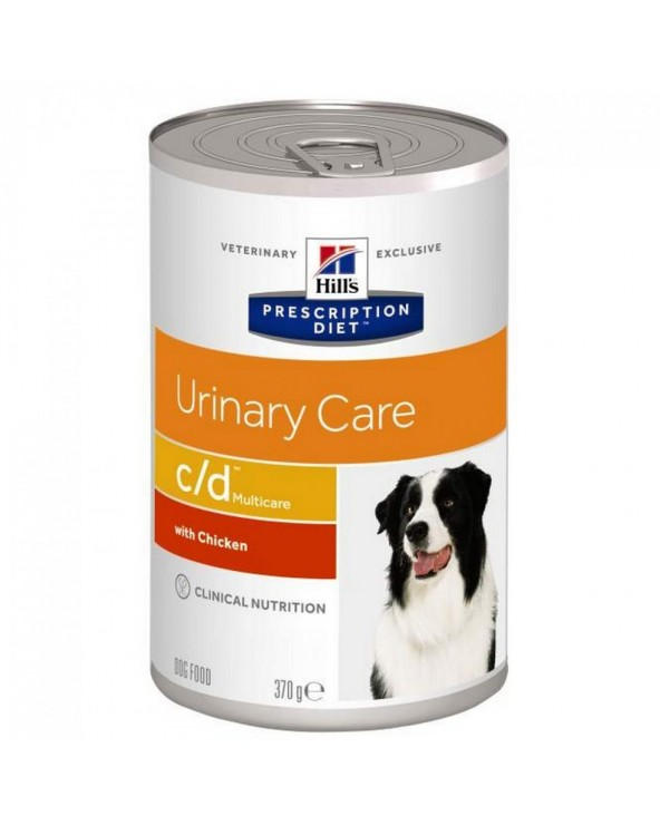 Hill's Canine Prescription Diet C/D Lattina in Patè 370 g