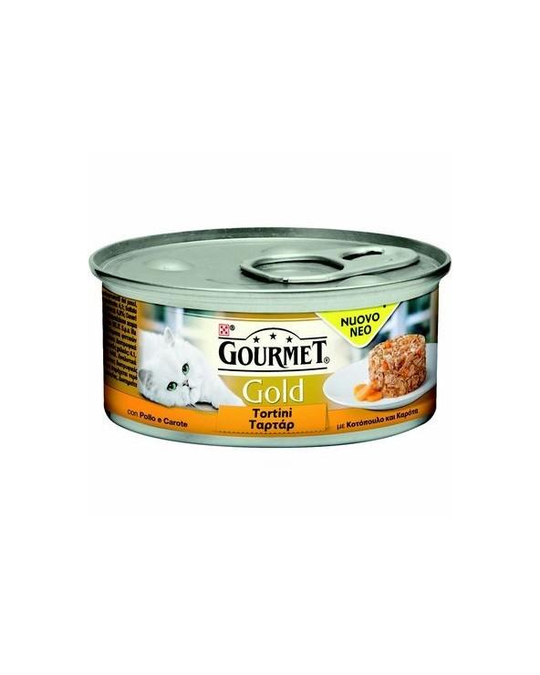 Gourmet Gold Tortini Pollo e Carote 85 g