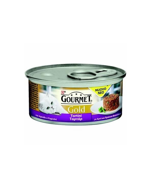 Gourmet Gold Tortini Agnello e Fagiolini 85g