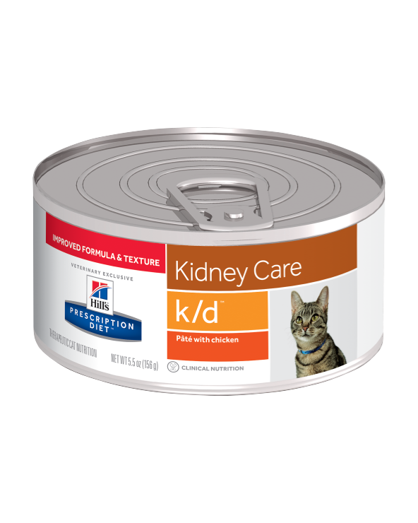 Hill's Feline Prescription Diet K/D Lattina in Patè 156 g
