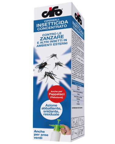 Cifo Ciperwall Antiparassitario Insetticida Ambientale in Diluizione 250 ml