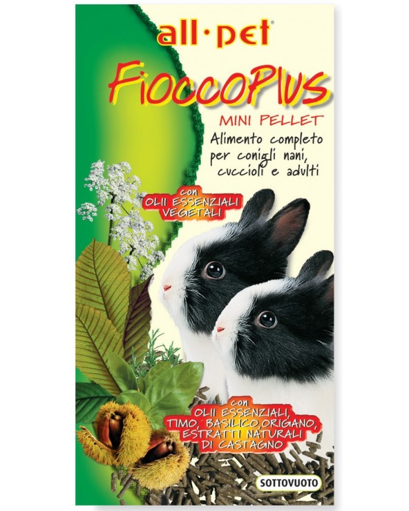 Allpet Fiocco Plus Mini Pellet 800 g
