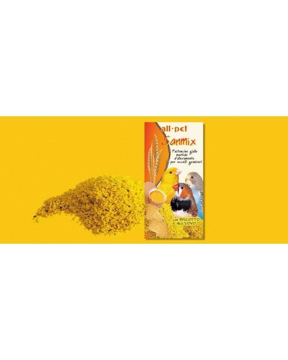 All Pet Sanmix Pastoncino Giallo per Uccelli Granivori 300 g