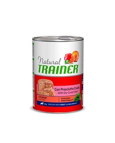 Natural Trainer Adult Medium con Prosciutto Crudo Lattina in Patè 400 g