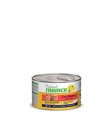 Natural Trainer Patè Adult Mini con Manzo Lattina in Patè 150 g