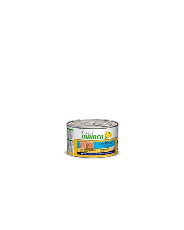 Natural Trainer Patè Adult Mini con Pesce Lattina in Patè 150 g